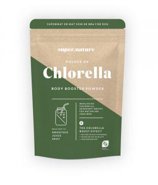 Chlorella+pulver